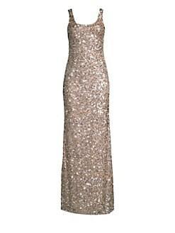 1a7d276a385 Parker Black. Nicolette Sequin Bodycon Gown