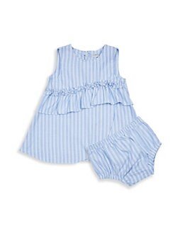 d0fe37241ff2f Habitual Girl. Baby Girl's Amanda Ruffle Dress & Bloomers Set