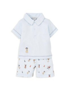 367936b7c Baby Boy Clothes: Tops, Footies & Bodysuits | Saks.com