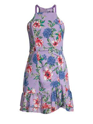 Parker Dresses Amina Floral Halter Dress