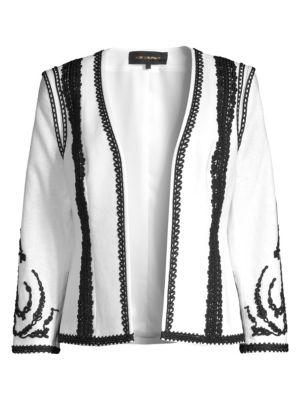 Kobi Halperin Jackets Camila Embellished Open-Front Jacket