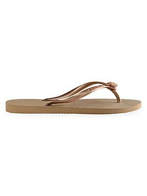 4214a2b5e3049 Havaianas - You Saint Tropez Textile Print Cinched Sandals - saks.com