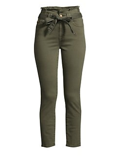 3817b2a7f43 QUICK VIEW. 7 For All Mankind. Paperbag Waist Pants