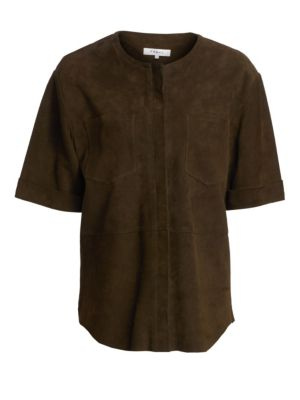 Frame Tops Suede Walking Tunic