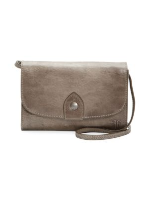 Frye Shoulder Flap Leather Shoulder Bag