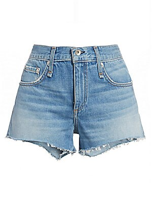 Cate Cutoff Denim Shorts by Rag & Bone