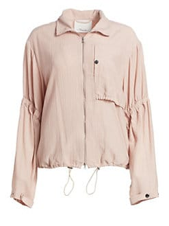 567cb03a7020 3.1 Phillip Lim. Cinched Sleeve Anorak Jacket