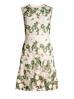 13e1c3485bfb QUICK VIEW. Shoshanna. Roseia Floral Lace Sleeveless Dress