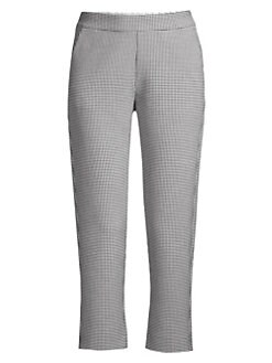 99d44629150c QUICK VIEW. Piazza Sempione. Relaxed Houndstooth Pants