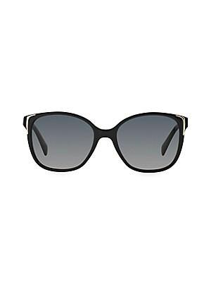 426cbe690cc Prada - 55mm Baroque Round Sunglasses - saks.com