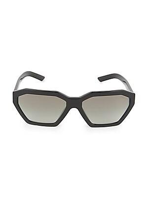 7d730e69e440c Prada - 55mm Baroque Round Sunglasses - saks.com