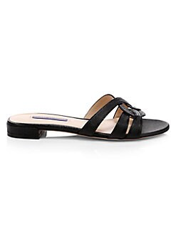 7316ee23c67361 Cami Leather Sandals BLACK PATENT. QUICK VIEW. Product image