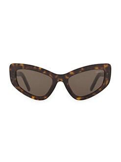 30953ea02c3 Product image. QUICK VIEW. Prada. Catwalk 55MM Extreme Cat Eye Sunglasses