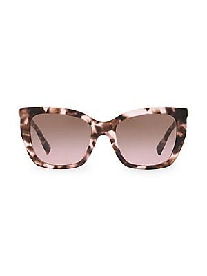 4008b2f5170 Valentino Garavani - 53MM Rockstud Square Cat Eye Sunglasses