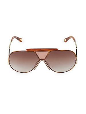 Sunglasses Shield Round Willis Chloé 64mm TIwUqqY