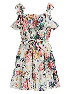 89b1912aa9 QUICK VIEW. Zimmermann. Allia Ruffle Trim Floral Mini Dress