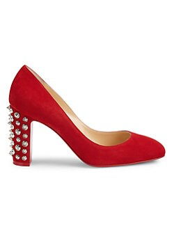 17ad09c19668 QUICK VIEW. Christian Louboutin. Donna Stud Spike Suede Pumps