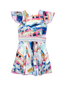 26cb1dad470c QUICK VIEW. Zoe. Girl s Mix It Up Sateen Swing Dress