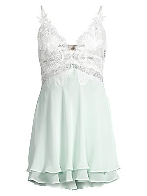 Stephanie Chiffon Lace Chemise by Jonquil