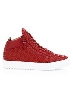 8beccaf8b Product image. QUICK VIEW. Giuseppe Zanotti. Studded Leather Sneakers