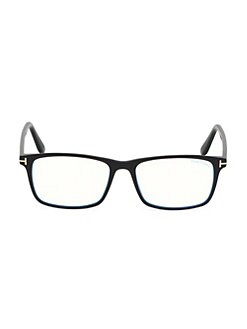 1aa86675d95 Product image. QUICK VIEW. Tom Ford. Blue Block 54MM Square Glasses