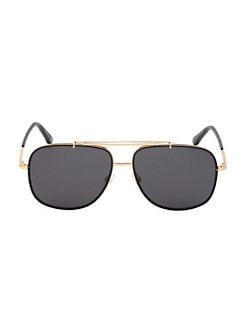 eb7ab82c2a Product image. QUICK VIEW. Tom Ford. 58MM Metal Aviator Sunglasses.  475.00  · Giulio 54MM Square Havana Sunglasses DARK HAVANA