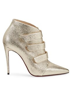 4ccd39e0517a7 QUICK VIEW. Christian Louboutin. Triniboot Metallic Leather Booties