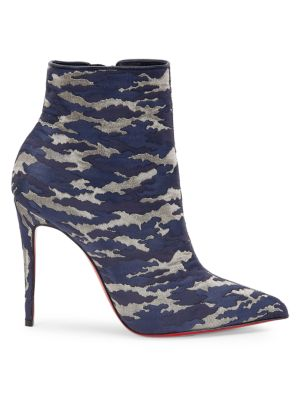 So Kate Booty Camo Ankle Boots