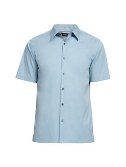 d80904559 Product image. QUICK VIEW. Theory. Sylvain Short-Sleeve Shirt