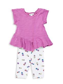 e21bf2991c2e Product image. QUICK VIEW. Splendid. Baby Girl s Asymmetric Tee   Pineapple  Leggings Set