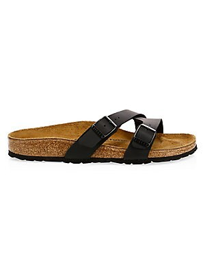 10bd96bffbd6 Birkenstock - Yao Crossover Double-Strap Slide Sandals - saks.com