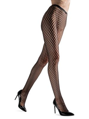 Natori Pants Double Weave Net Tights
