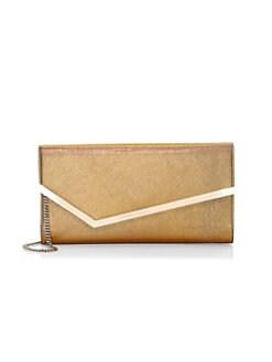 Jimmy Choo. Erica Leather Envelope Bag a8411042a4bb5