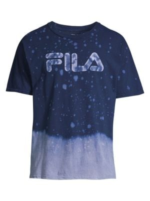 Fila Splatter Graphic Logo Tee