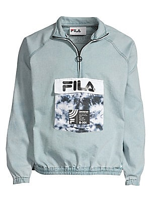 Archive Denim Track Top by Fila