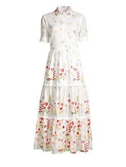 5352e9bb5d1 QUICK VIEW. Weekend Max Mara. Lina Short-Sleeve Floral Dress