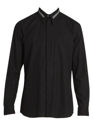 Givenchy Branded Collar Shirt