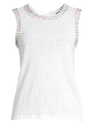 Generation Love Lucy Rainbow Studded Tank Top