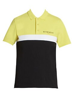 8fff1e17 QUICK VIEW. Givenchy. Colorblock Logo Polo Shirt