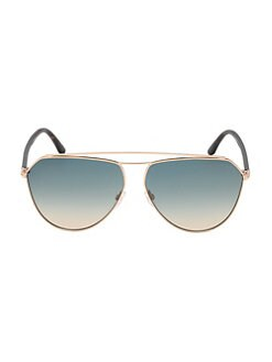 60abccfcf11 QUICK VIEW. Tom Ford. Binx 53MM Aviator Sunglasses