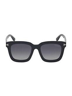 ec3cce7e720 Tom Ford. Sari 52MM Square Sunglasses