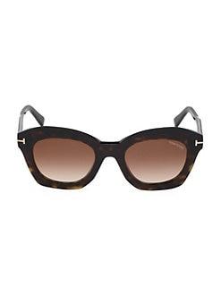ba1134b4e9b Tom Ford. Bardot 53MM Cat Eye Sunglasses