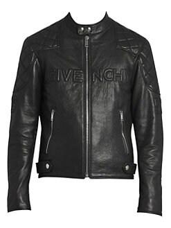 9603873c1 Givenchy - Leather Biker Jacket