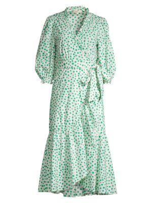 Rebecca Taylor Emerald Daisy Dress