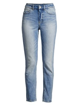 Rebecca Taylor Jeans Ines Juliette Faded Whiskered Jeans