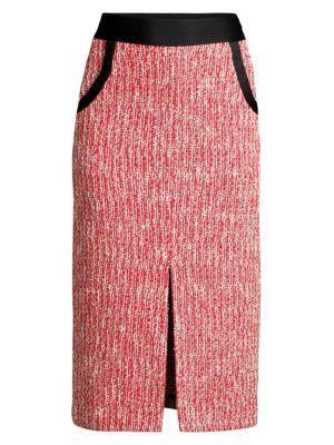 Maje Skirts Tweed Pencil Skirt