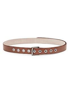 2e02ada0e74 QUICK VIEW. Brunello Cucinelli. Textured Leather Grommet Belt