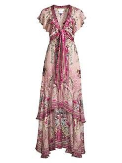 307cc2bc36e QUICK VIEW. Camilla. Tapestry Print Silk Maxi Dress