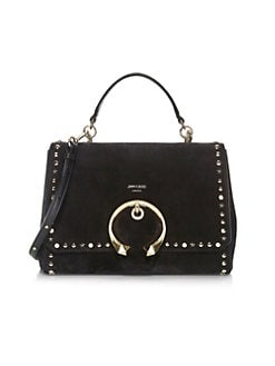27824d1d537b6b QUICK VIEW. Jimmy Choo. Madeline Studded Top Handle Bag