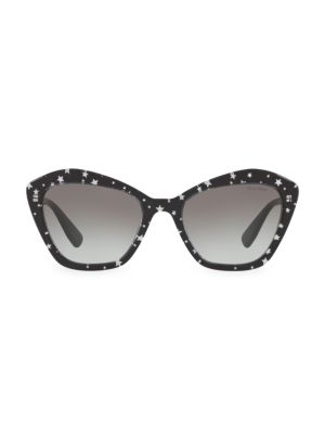 ba1759d59298 WEB EYEWEAR - 55MM Narrow Cat Eye Sunglasses - saks.com